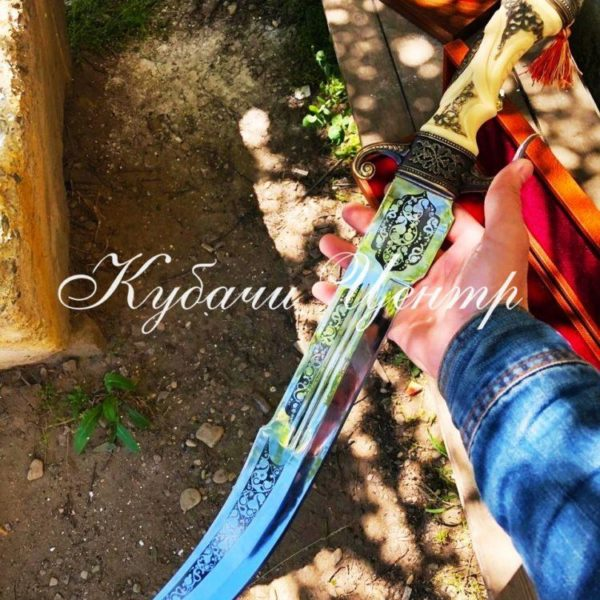 "ЯТАГАН ""СУЛТАН"" 65 СМ. КЛИНОК - СТАЛЬ 65Х13"